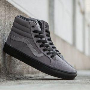 Vans Reissue Gray Black Pewter Gum sole Sneakers